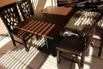 Модерни стойки за маса с квадратна основа