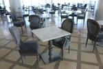 основа за бар маса с квадратна основа за ресторант