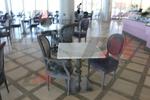 бази за бар маса с квадратна основа за ресторант
