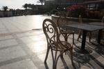 Плот за маса за кафене от верзалит