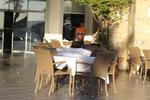 Плот за маса от верзалит за кафене