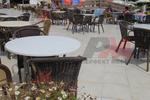 Верзалитови плотове кръгли за маса