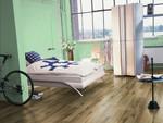 Поддържане на дървен паркет за спални интересен