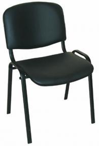 Посетителски стол ISO BLACK V