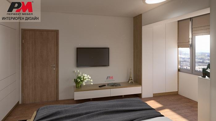 Елегантна линия и изчистена визия в съвременната спалня