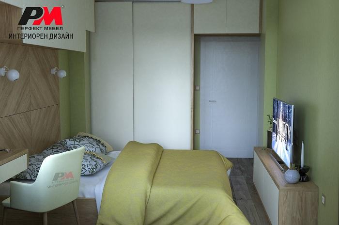 Практичност в модерния интериор на спалнята