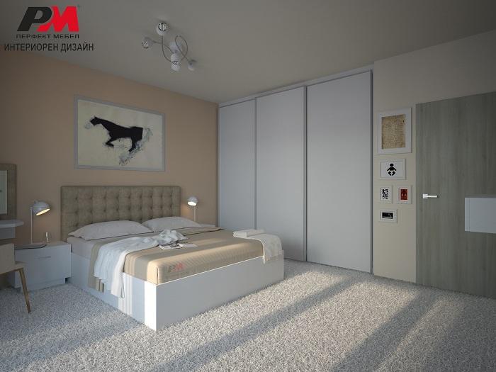 Изящен интериорен дизайн и съвременно звучене в спалнята