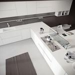обзавеждане на ъглови кухни