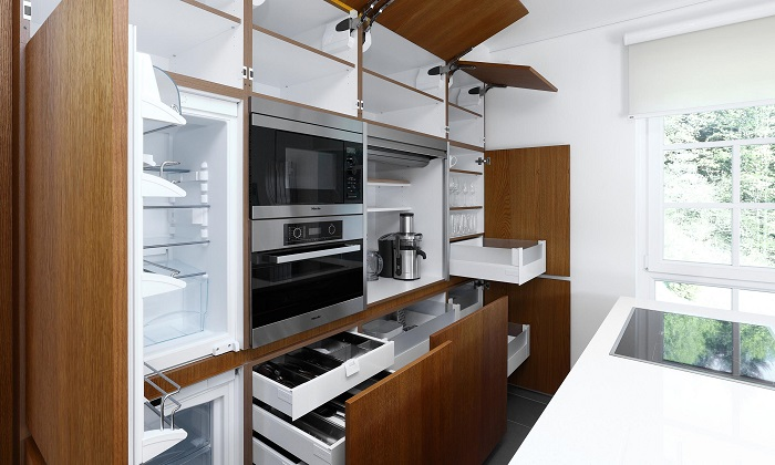 Съвременен стил кухня