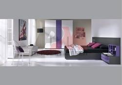 Спалня в черен цвят