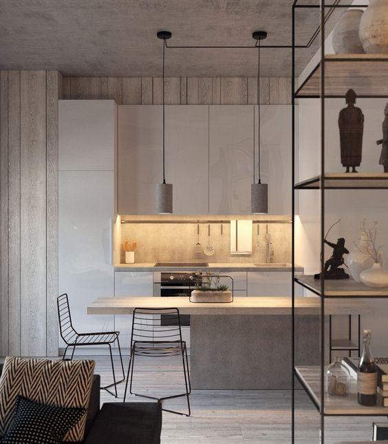 Концептуална кухня със съвременна визия