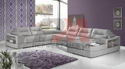 Луксозен диван в сиво