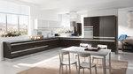 дизайнерски кухни с плот технически камък