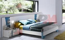 Спалня от ПДЧ с вградено осветление