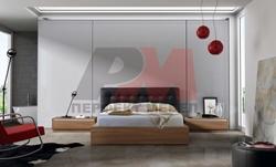 Спалня естествен фурнир дъб