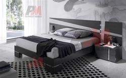 Луксозна сива спалня