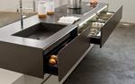 интериори за кухни с кант дръжка