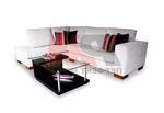 актуална ъглова мека мебел с ракла