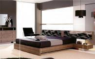 Легло в зебрано и черно