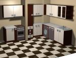 Кухня в бяло