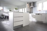 кухня с бяло ПДЧ-