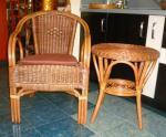 Маса и стол от ратан