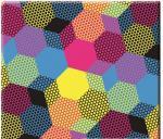 Плот за маса верзалитов цветен