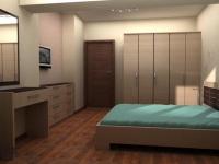 петкрилен гардероб-