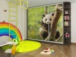 Гардероб за детска стая с три плъзгащи врати