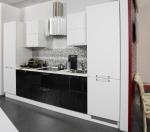 Проект на права кухня с врати полиглос