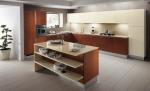 Кухненски мебели ПДЧ гланц в кремаво
