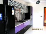 Кухненски шкафове МДФ гланц с принт елементи