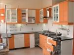 Кухненски мебели ПДЧ мат оранжево