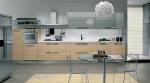 Кухня по поръчка сиво металик МДФ мат