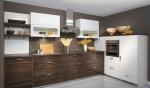 Шкафове за кухня ПДЧ за четристаен апартамент