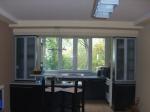 Кухня по поръчка ПДЧ с витрини за гарсониера