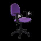 Офис стол лилав