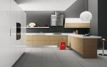 Дизайнерска кухня модерна