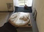 Тапицирани кръгли легла