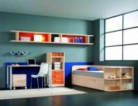 Детска стая - светъл дървесен декор