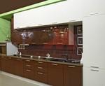Уникални кухни с принт стъкло по клиентски размери