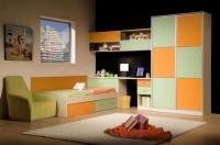 детска стая в два цвята