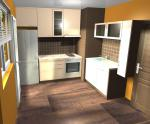 Кухня горен и долен ред