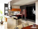 съвременна кухня за къща  лукс