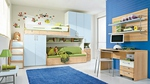 Уникалната детска стая с легло на два етажа