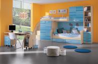 двуетажна детска стая