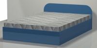 Легло за спалнята с размери за матрака МДФ 140/200 София