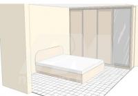 Спалня с гардероб