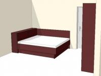 Ъглово легло