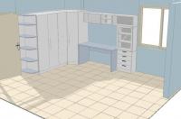 проект на детска стая  4